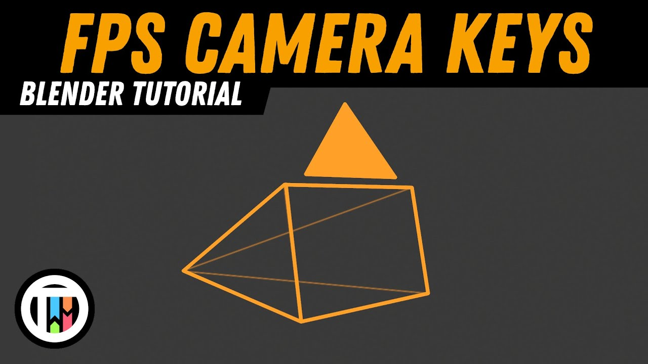 How to Switch to Blender's First Person Camera in 2.8 Eevee | TutsByKai