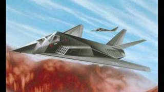 Aviation Art: F-117 Nighthawk Stealth Fighter