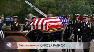 Officer Scott Patrick Is Laid To Rest