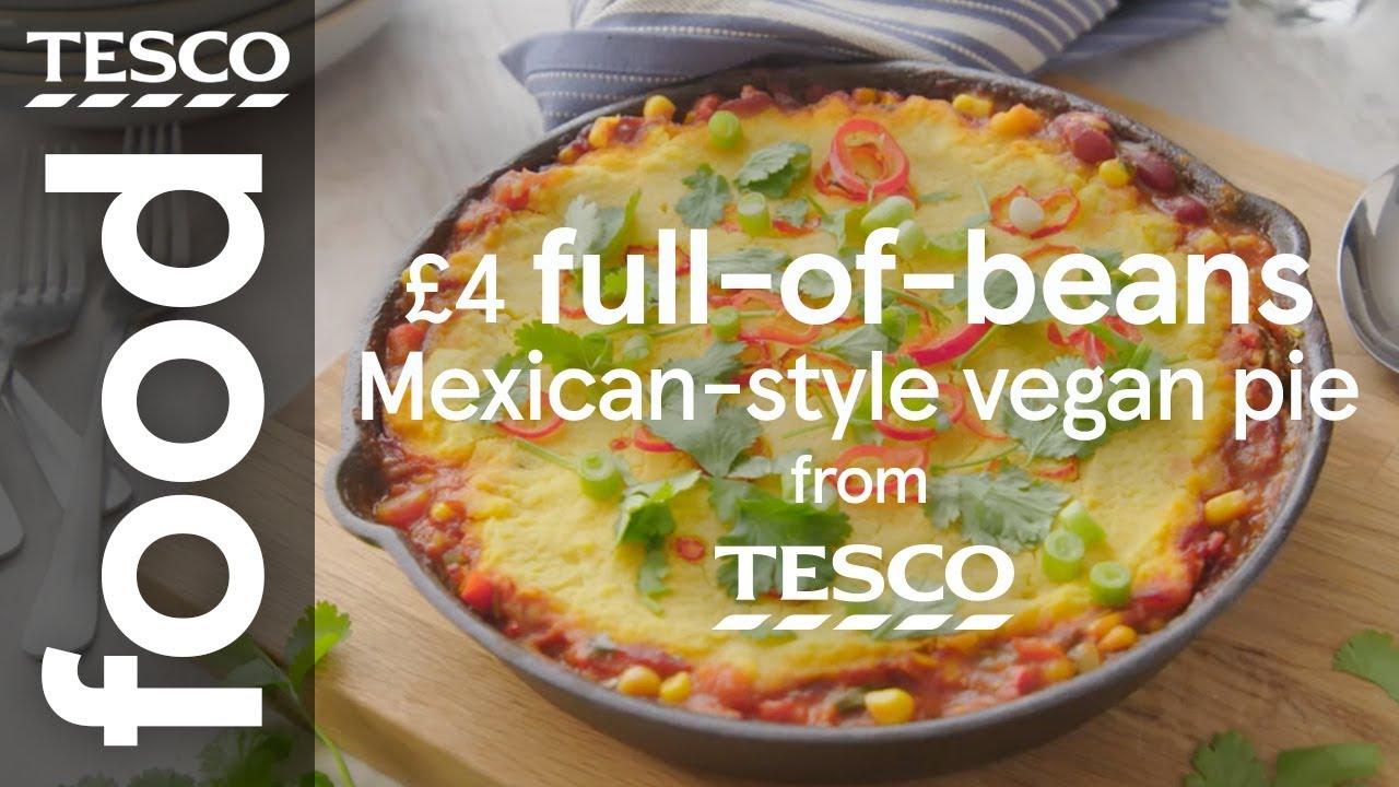 Mexican-style vegan pie
