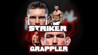 Classic Striker vs Grappler! - Watch Till The End!