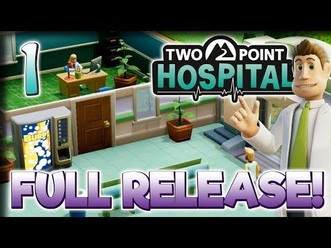 Gameplay de Two Point Hospital
