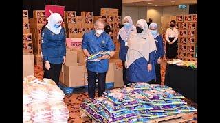 Tinjauan Pelaksanaan Program Bakul Makanan Prihatin Negara oleh YAB Perdana Menteri