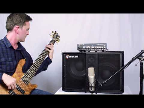 Demo: Genzler Amplification Bass Array 210-3 (BA210-3) speaker cabinet