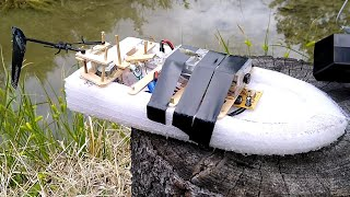 FPV RC Boat made from GARBAGE!