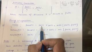 Fuzzy Logic    Operations on Fuzzy Sets    Solved Important Numerical