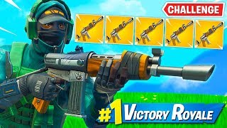 Winning With Burst Rifle *ONLY* Challenge!