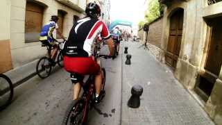 preview picture of video 'GoPro OpenNatura BTT Sant Sadurní d'Anoia 2013 (Crash Included). ;-)'