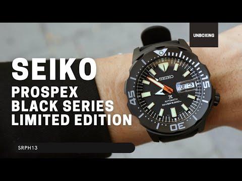 SEIKO PROSPEX BLACK SERIES SRPH13 LIMITED EDITION