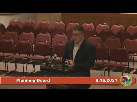 9.16.2021 Planning Board