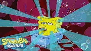SpongeBob's Theme Song Remix: Slow-Mo, Super-Fast & Reverse 🎶 | #FunniestFridayEver