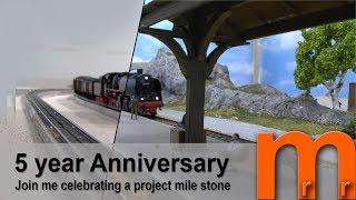 Celebrating 5 year anniversary