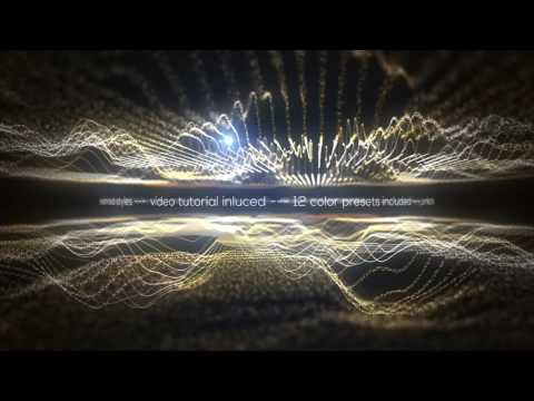 Audio Spectrum Music Visualizer - After Effects Project Files