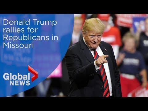 Trump Rally Springfield Missouri - смотреть онлайн на Hah Life