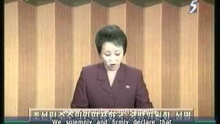 North Korea says policy won