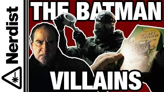 A Guide to Every Villain in The Batman Trailer