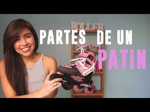 ¿Qué partes tiene un patín? // Which parts have a roller skate?