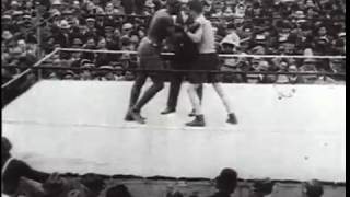 Jack Johnson vs Stanley Ketchel (16.10.1909)