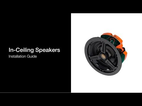 In-Ceiling Speaker | Installation Guide