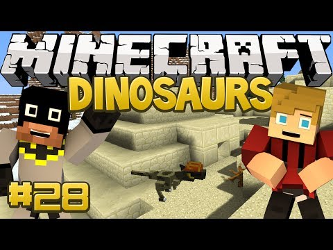 Minecraft Dinosaurs Mod (Fossils and Archaeology) Series