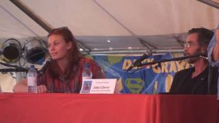Cassidy Freeman On Kissing Tom Welling
