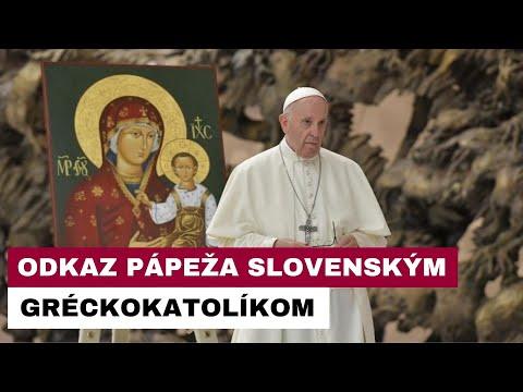 Príhovor pápeža Františka slovenským gréckokatolíkom