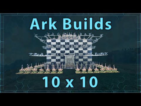 Download Ark Builds - 10x10 With Breeding Room HD Video