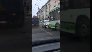 Авария на улице Ленина в Пензе