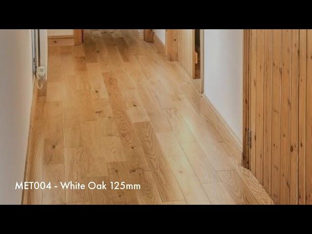 Natural Oak Hardwood Flooring
