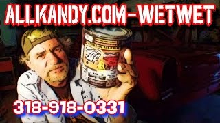 Whats The Best Clear Coat To Use-AllKandy Wet Wet Clear Review-Part 2