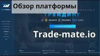 Обзор платформы Trade-mate.io