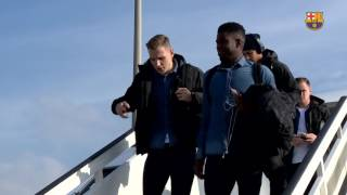 FC Barcelona: trip to Eibar