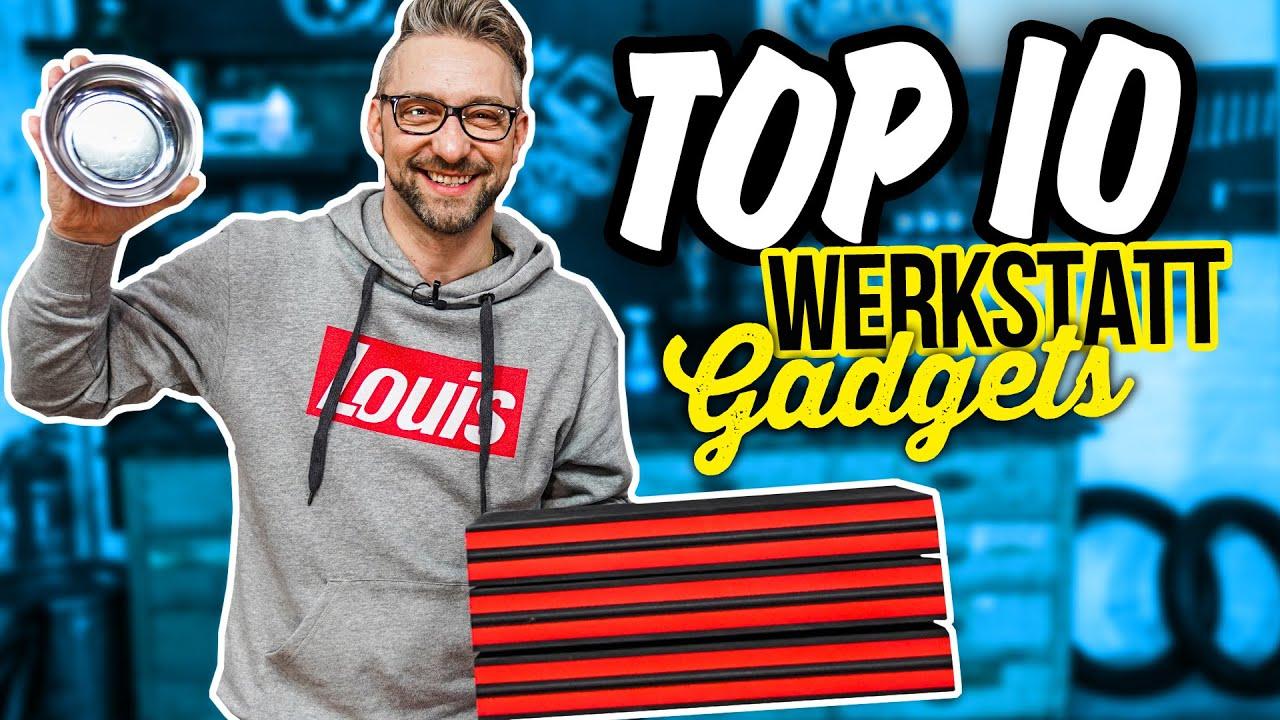 TOP 10 GADGETS für DEINE Motorradgarage!