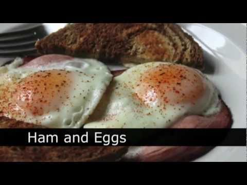 Ham and Eggs Recipe – How to Make Ham and Eggs