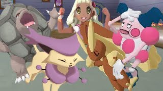 [ZU?] Normalize Delcatty Breaks Through! Pokemon Ultra Sun and Ultra Moon Wi-Fi Battle #88 (1080p)