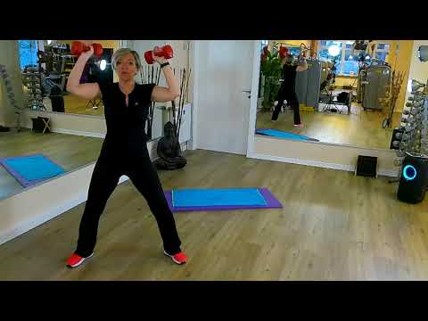 Home Office Workout  – 20 Min