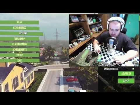 Goat simulator | Let's Play CZ/SK | Šílená koza| 1.díl | Pc gameplay