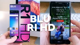 BLU R1 HD Unboxing and Impressions