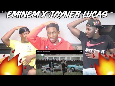 Eminem - Lucky You ft. Joyner Lucas - REACTION