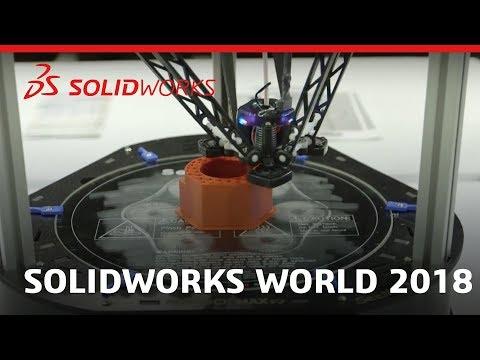 Jak to wyglądało w 2017 roku - SOLIDWORKS WORLS 2017