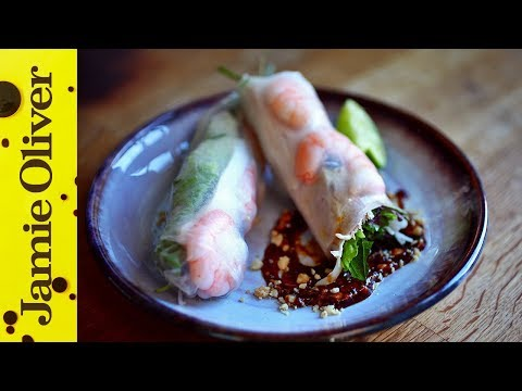 Vietnamese Summer Rolls   Uyen Luu