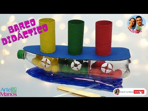 Estimulando la creatividad y motrícidad de nuestros niños - Barco Didáctico