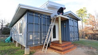 Building An Overhang For Our Front Porch!