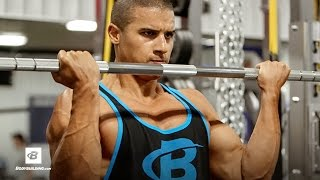 Lean Strength Back and Biceps Workout | Lee Constantinou by Bodybuilding.com