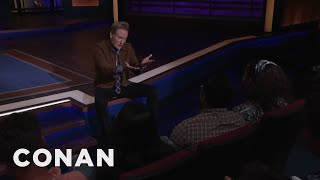 Kumail Nanjiani Can't Make It To CONAN - CONAN on TBS