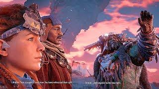 HORIZON ZERO DAWN How to Start The Frozen Wilds DLC
