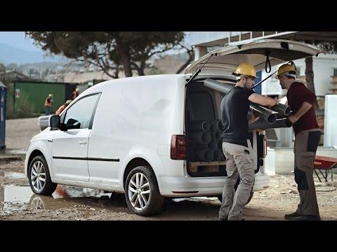 Volkswagen Caddy 4 Kasten Фургон класса M - рекламное видео 3