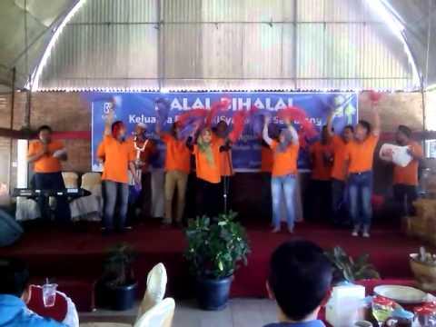 Yel Yel juara 3 BRI Syariah KCP Kendal Weleri