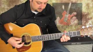 Jethro Tull - Aqualung - How to Play on Acoustic and Electric Guitar - Gibson les Paul