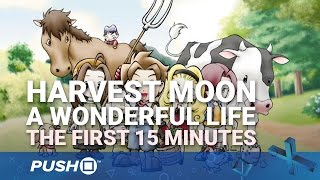 Harvest Moon: A Wonderful Life PS4: The First 15 Minutes | PlayStation 4 | Gameplay Footage